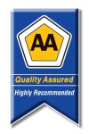 AA QA HIGHLY RECOMMENDED LOGO